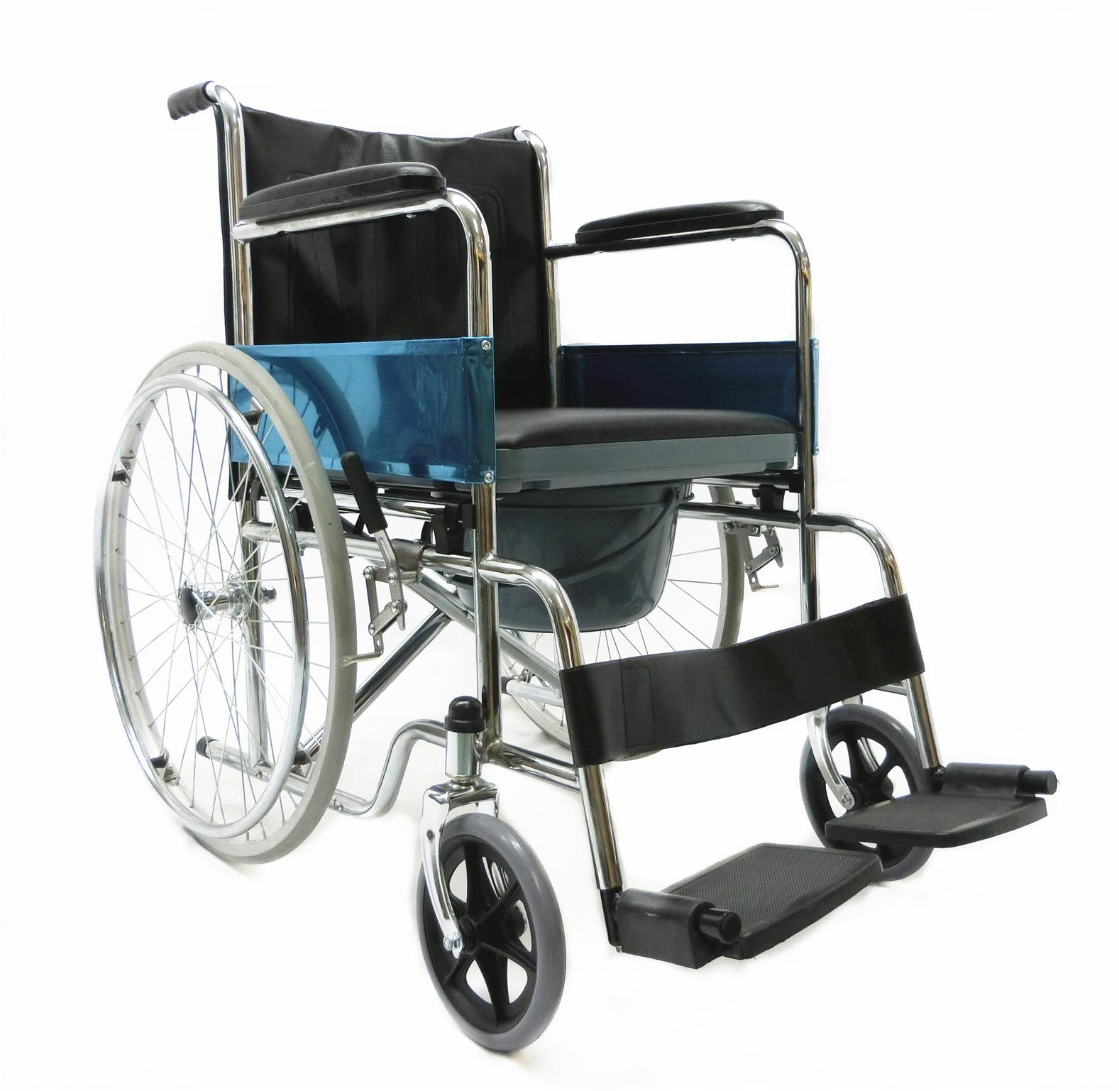 2 in 1 Commode chair Wheelchair kerusi roda ada tempat tandas