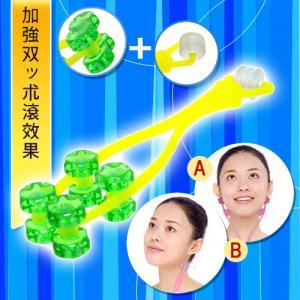 2 In 1 Face & Neck Roller Massager