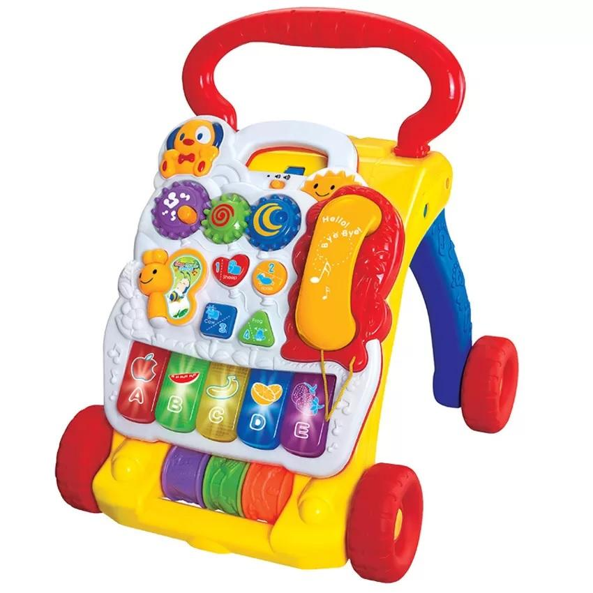 Musical Learning Toys : In music baby walker education end pm