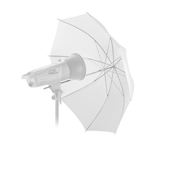 2-in-1 Shoot Through Reflector 2 Layers Detachable Umbrella Diffuser