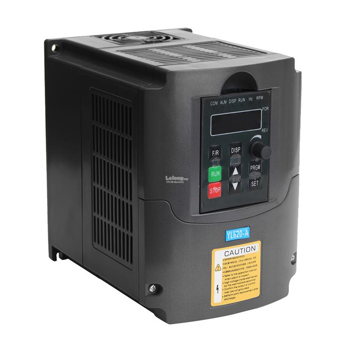 2.2KW 220V Variable Frequency Inverter Built-in PLC Speed Control Sing