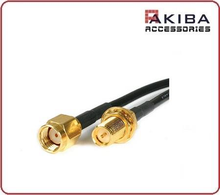 2.4 GHz Wifi RP-SMA M to RP-SMA F Antenna Extension Cable A-Type 5m