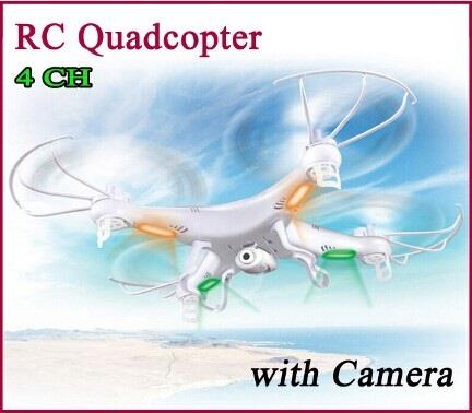 2.4G 4CH 6 Axis RC Quadcopter Drone With Camera (WP-X5C).