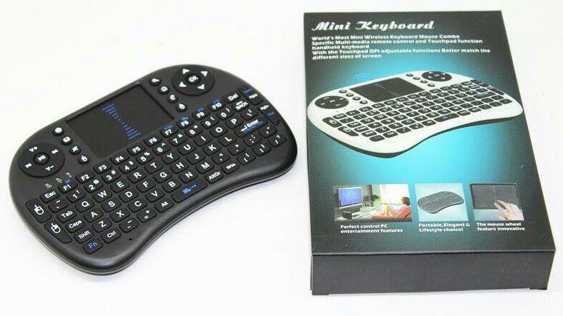 2 4G Mini Wireless Keyboard with Touchpad , USB Arduino Raspberry Pi