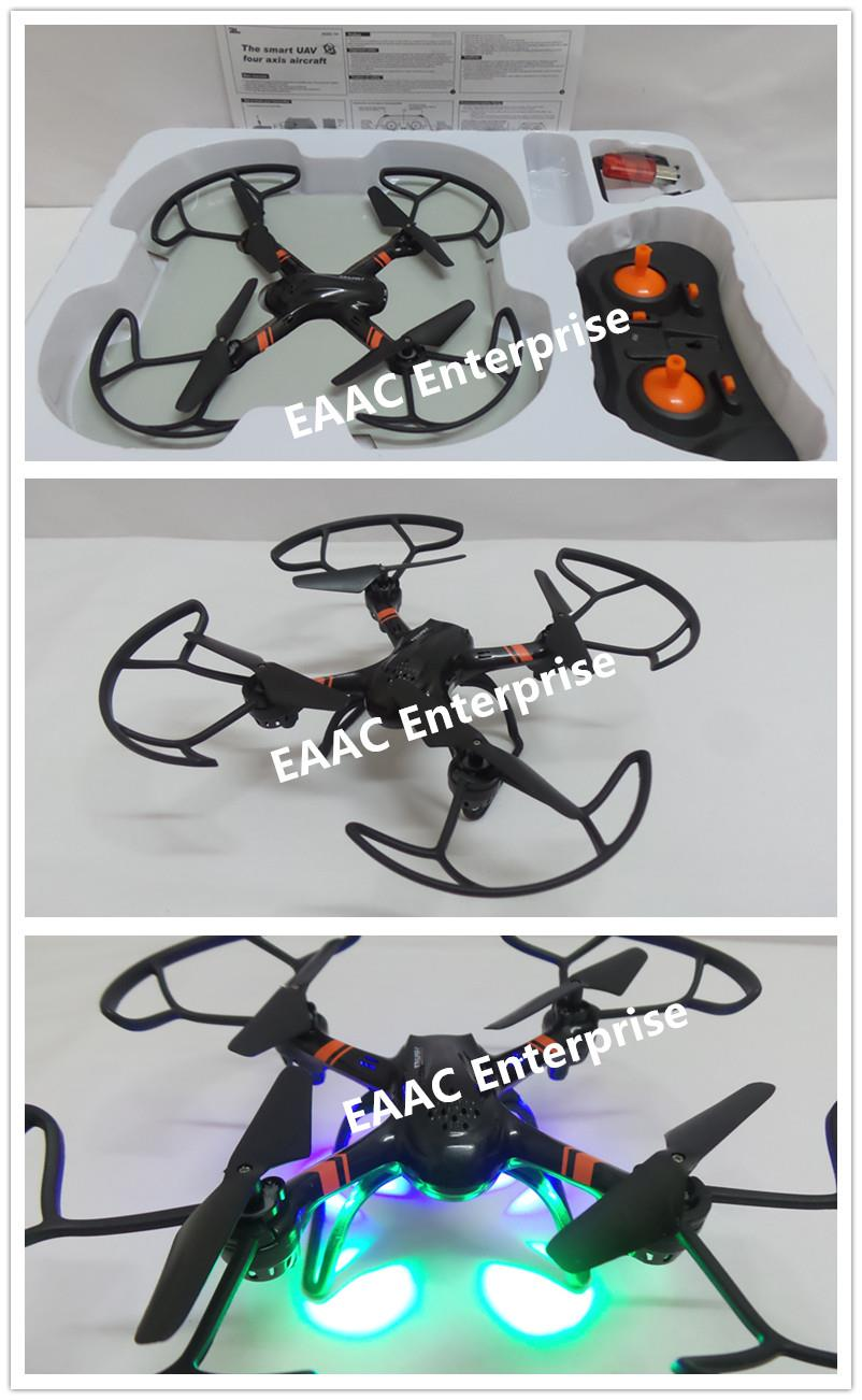 2.4GHz 23cm RC Drone Quadcopter UFO Helicopter 6 Axis Headfree Mode