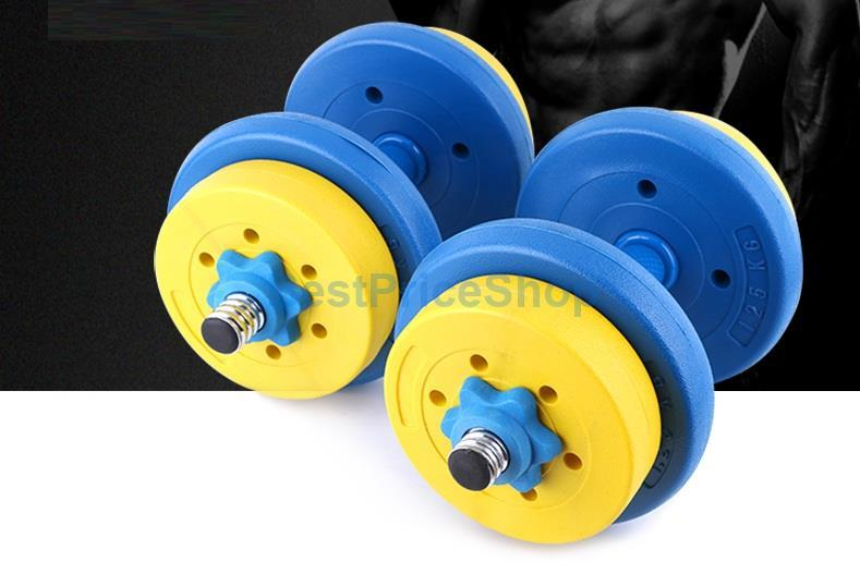 2.5-7.5kg High Grade Color Bumper Dumbbell Weight Plate Barbell Plates