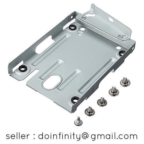 2.5' Hard Disk Drive HDD Mounting Bracket for PS3 Super Slim CECH-400x