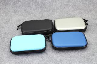 2.5' Hard disk/ Power Bank pouch/double zip casing!Free Poslaju~!