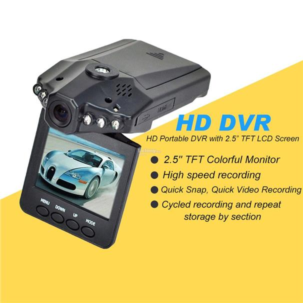 2.5; HD Car LED DVR Road Dash Video Camera Recorder Camcorder LCD 270?