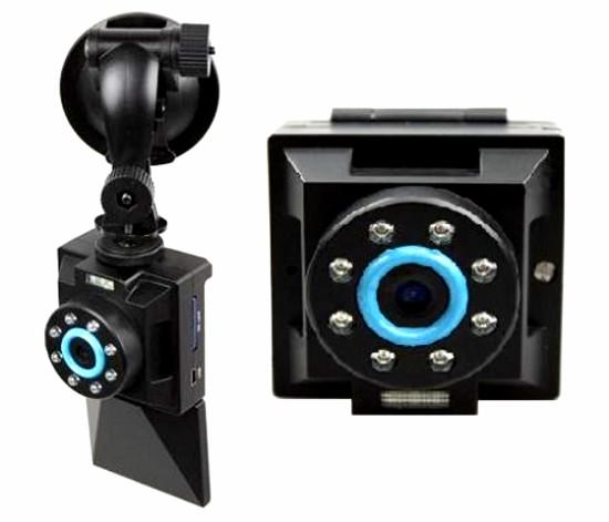 "2.5"" TFT LCD HD 720P Night Vision Car Camera (DVR-16E)."