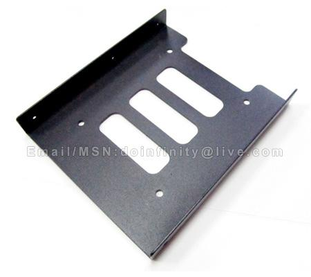 "2.5"" to 3.5"" Hard Disk Drive Rack Bay SSD HDD Mounting Bracket PC New"