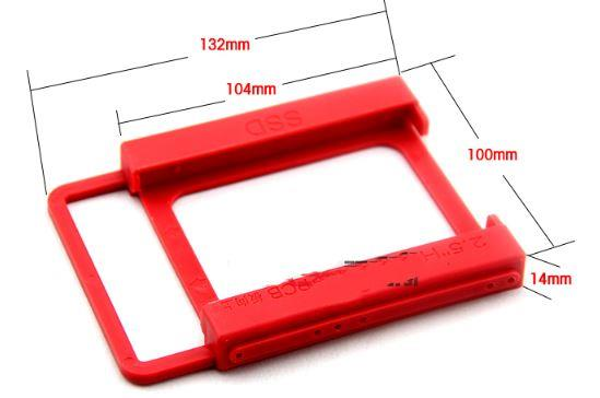 2.5 To 3.5 Inch SSD HDD PC Disk Bay Tray Mount Adapter Mounting Bracke