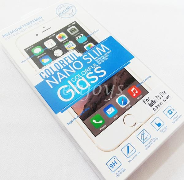 2.5D 9H Slim Tempered Glass LCD Screen Protector Huawei Ascend P8 Lite