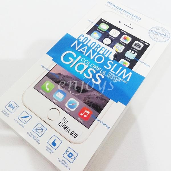 2.5D 9H Tempered Glass LCD Screen Protector Microsoft Lumia 950