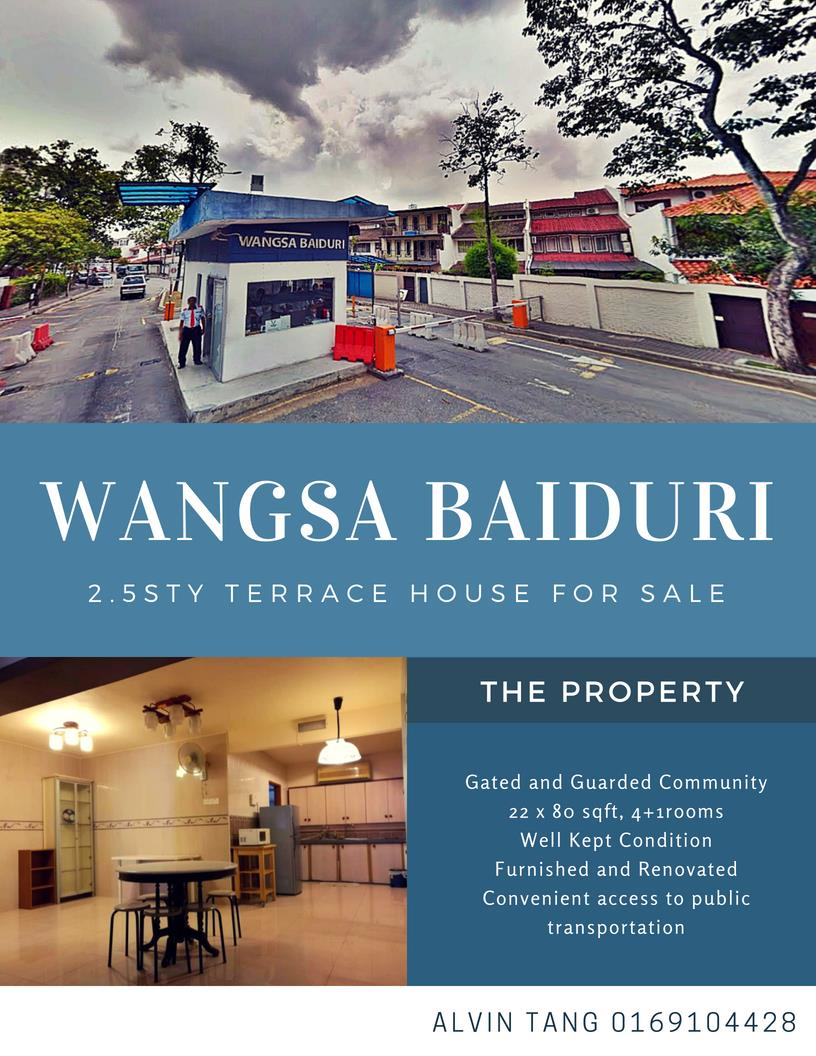 2.5sty Terrace House for sale, Wangsa Baiduri, SS 12, Subang Jaya