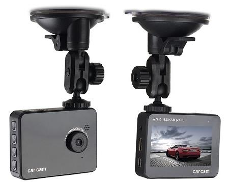 2.7 Inch Car Black Box HD DVR with 2 CH, HDMI, 4X Zoom (WCR-19).