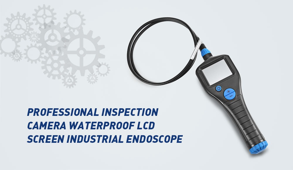 2.7 inch LCD LED Video Inspection Industrial Endoscope