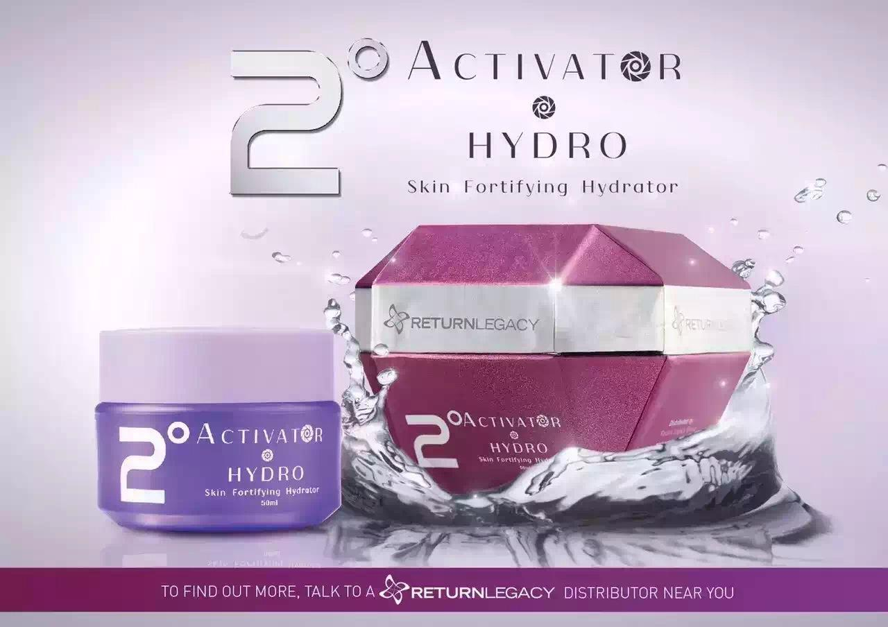 2° Activator Hydro Return Legacy 50ml (RM230 each for 2 bottles)