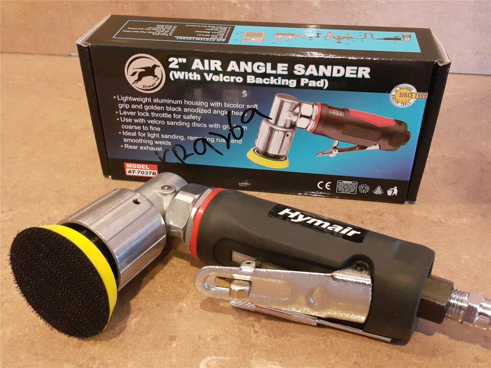2'' Air Angle Sander with Velcro Backing Pad (AT-7037B) ID779257