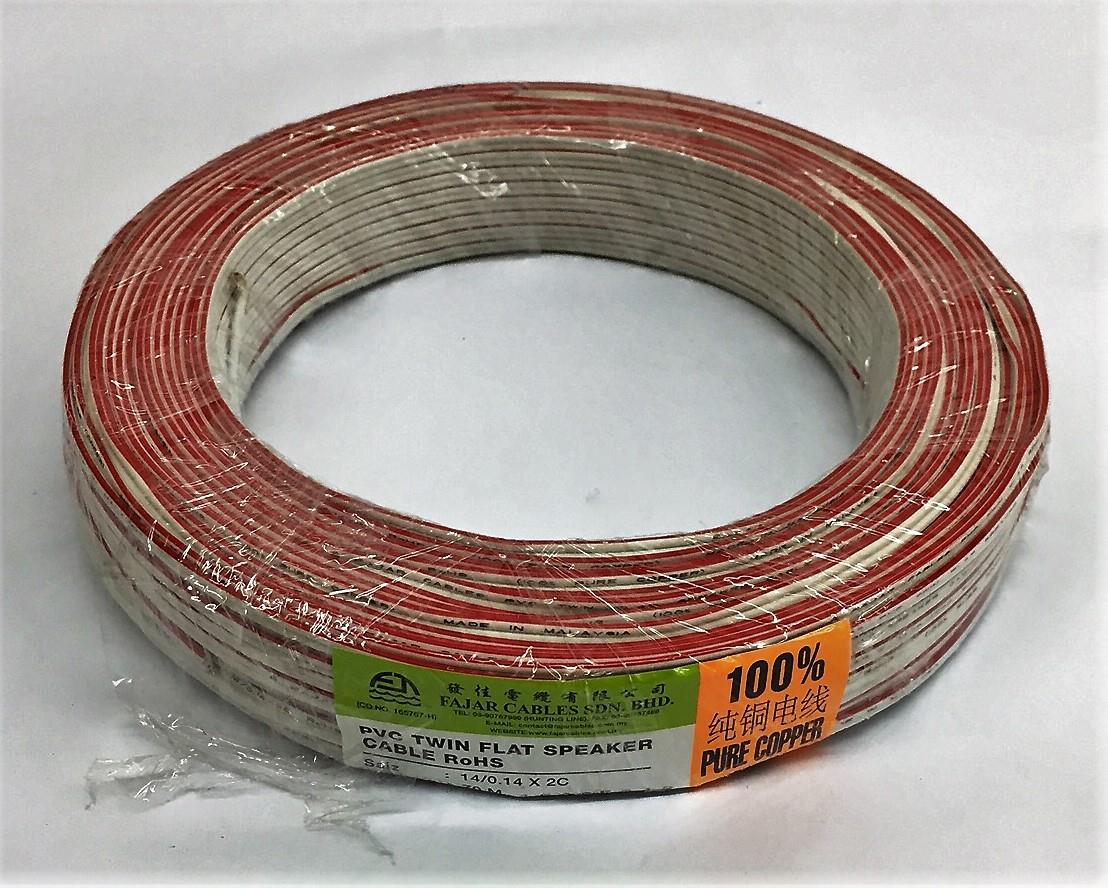 Stunning Flat Speaker Wire Contemporary - Electrical Circuit ...