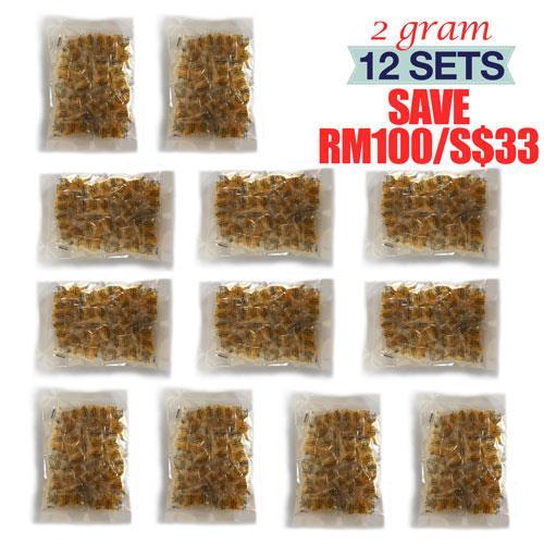 2 Gram x 720 Packets Food & A-Grade Silica Gel Desiccant Dehumidifier