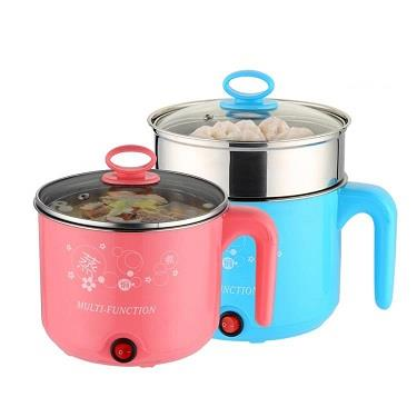 2 Layer Electric Multi Function Steamboat Cooker 1.6L