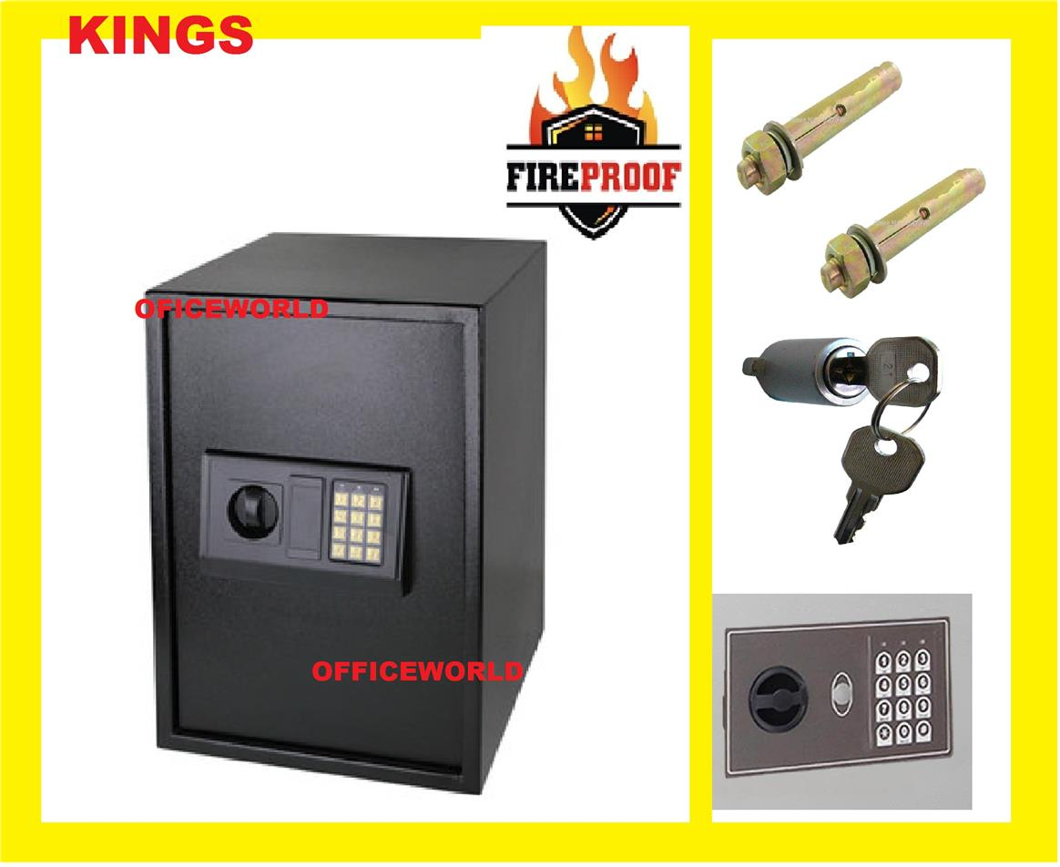 2 N 1 FIREPROOF SAFETY BOX SAFE BOX ( 2 YEARS WARRANTY )