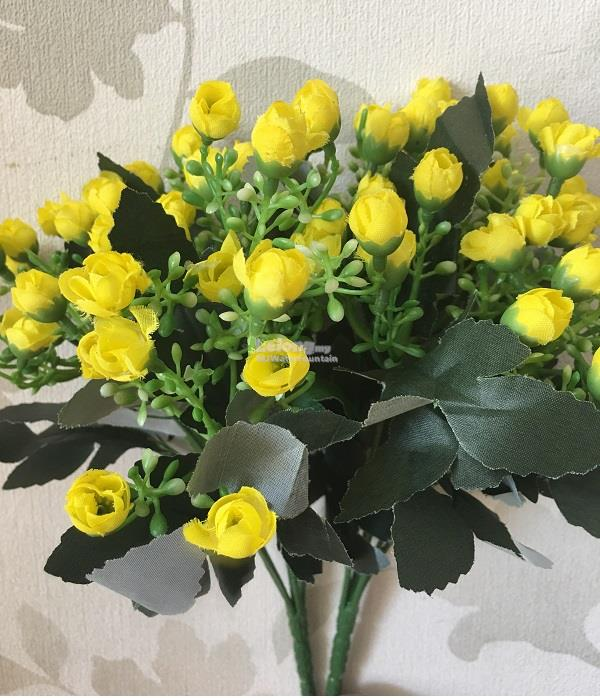 2 pcs artificial yellow flower rose end 1032019 1026 pm 2 pcs artificial yellow flower roses bouquet flowers decoration gift w mightylinksfo