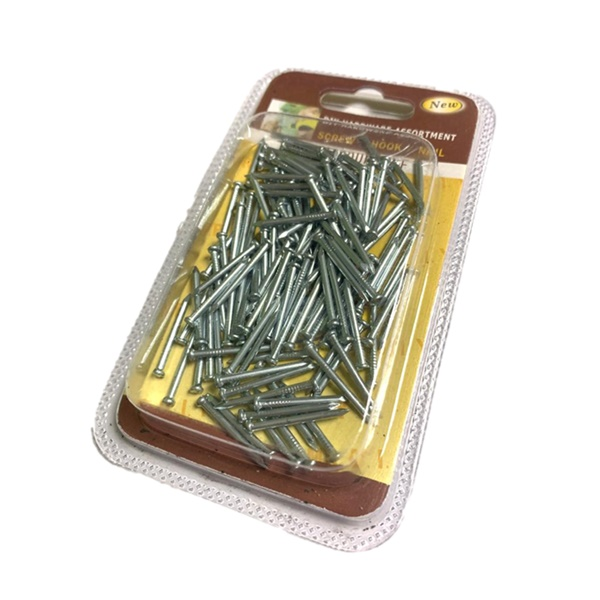 2 pcs of Screw / Hook / Nail DIY Hardware Assortment