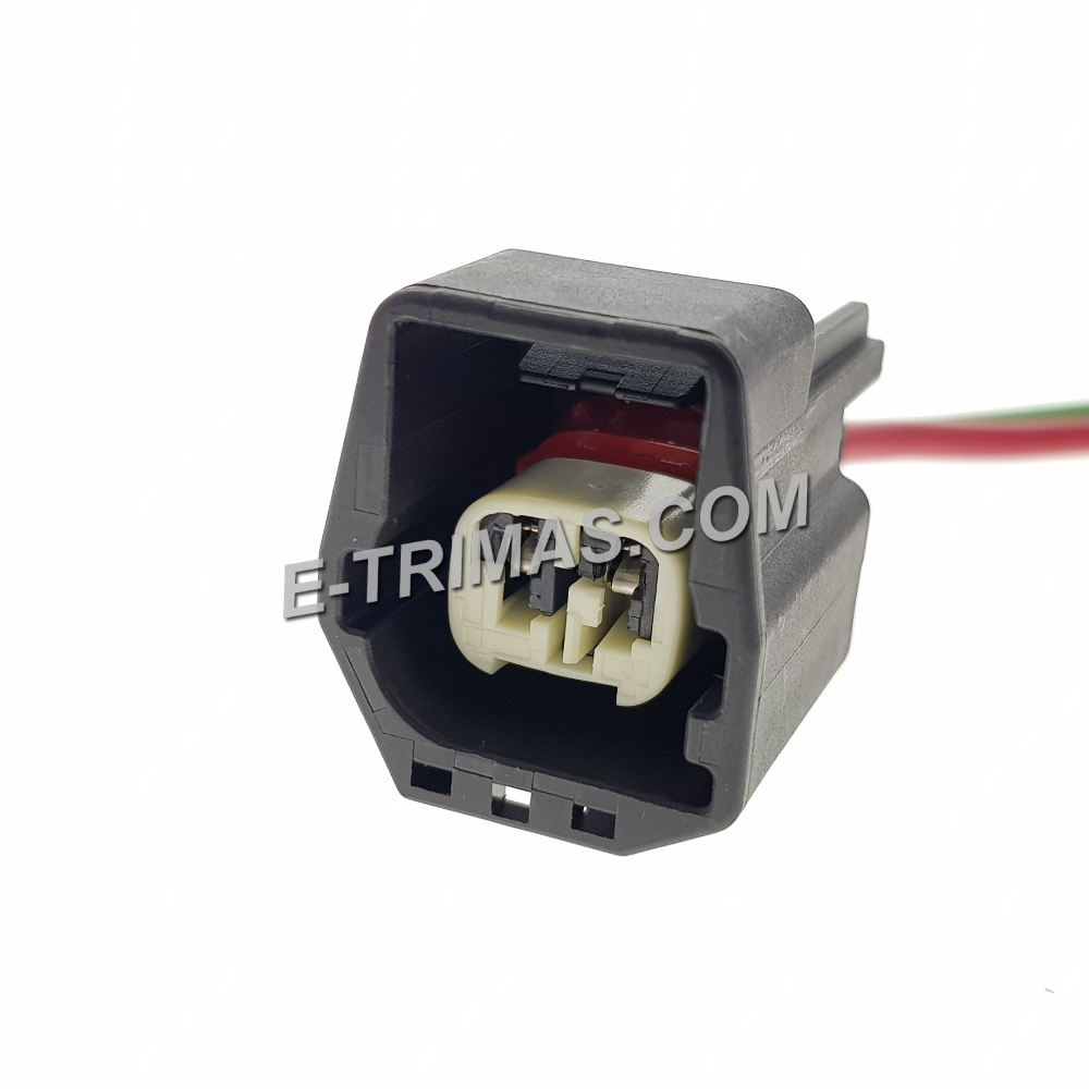 2 Pin Jeep Front Side Repeater Lamp Socket Connector