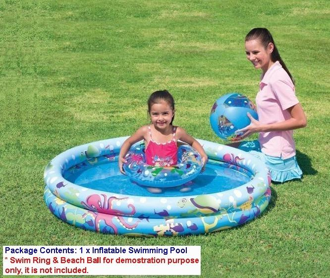 children garden. 2 ring kids \u0026 children garden inflatable swimming pool