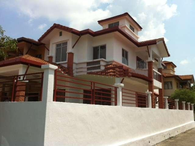 2 storey end lot terrace house, taman bukit subang, seksyen u16