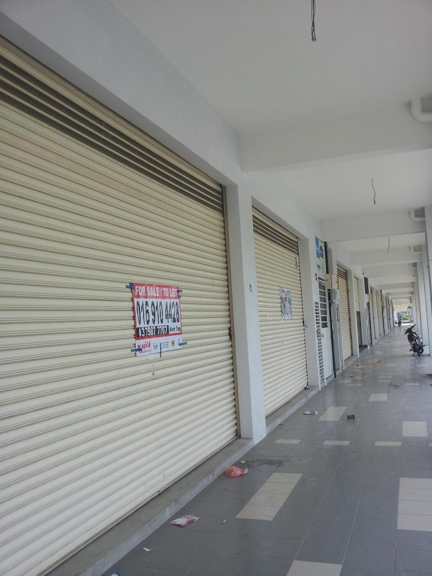 2-Storey Shop For Rent Jalan Sg Burung Bukit Rimau Shah Alam