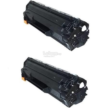2 Units of 285/325/435/436/312 Compatible HP/Canon Toner