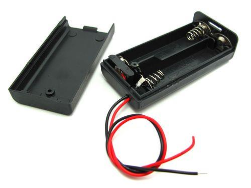 2 x AA Battery Holder with On/Off Switch