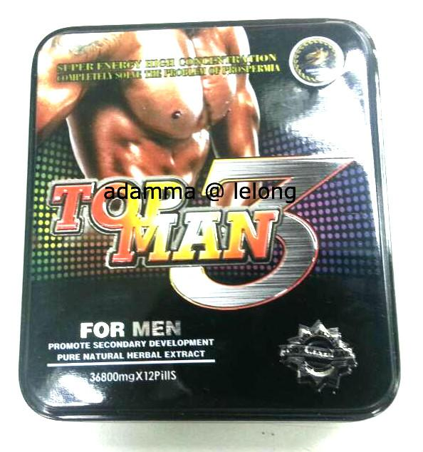 2 x Top Men 3 Capsules - hormone volume in human body FREE Postage