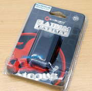 2 x Warranty Octopus EN-EL9 Platinum battery Nikon D40 D60 D3000 D5000