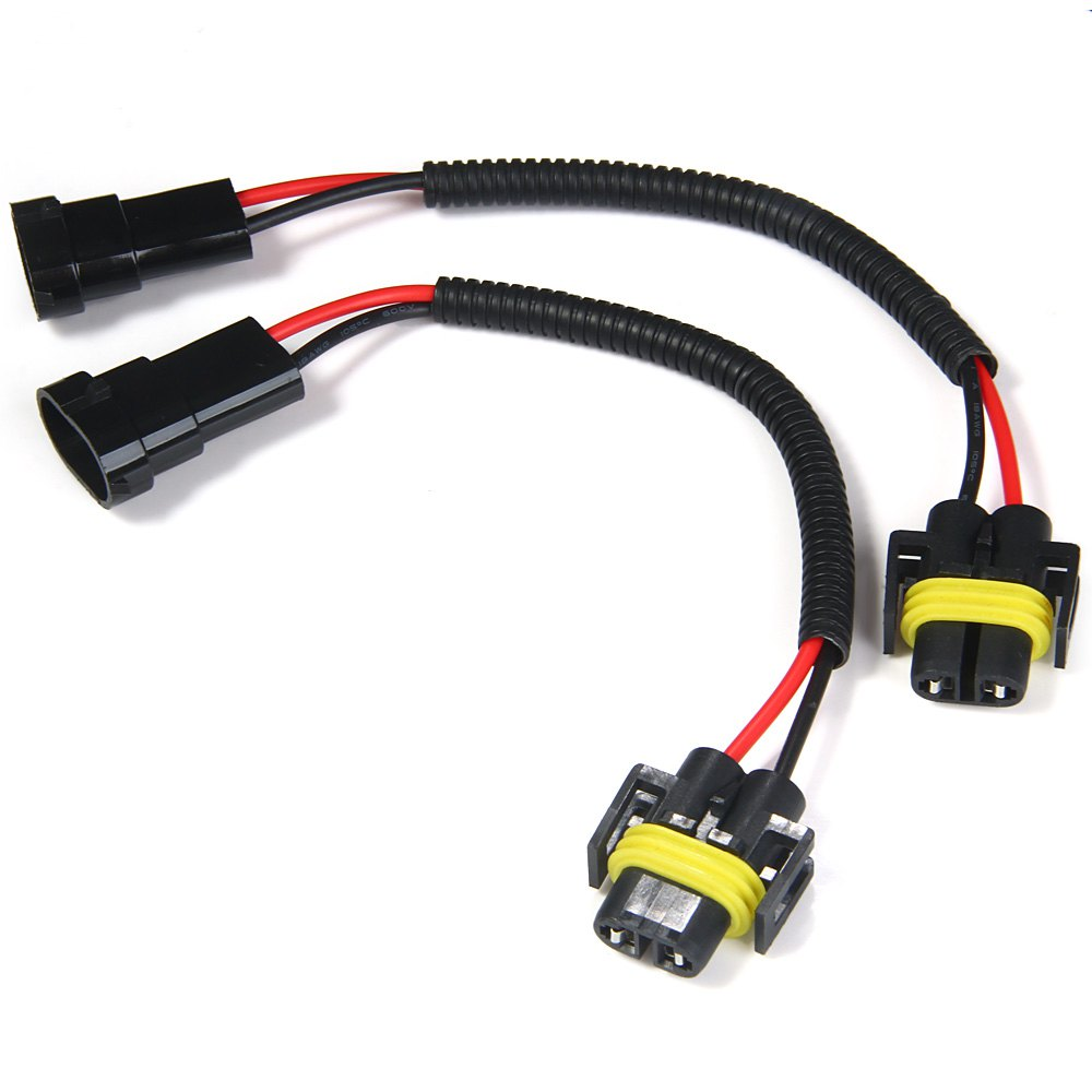 2 X Wiring Harness 2pcs H8 H9 H11 E End 7 2019 103 Pm Electrical Extension Adapter S