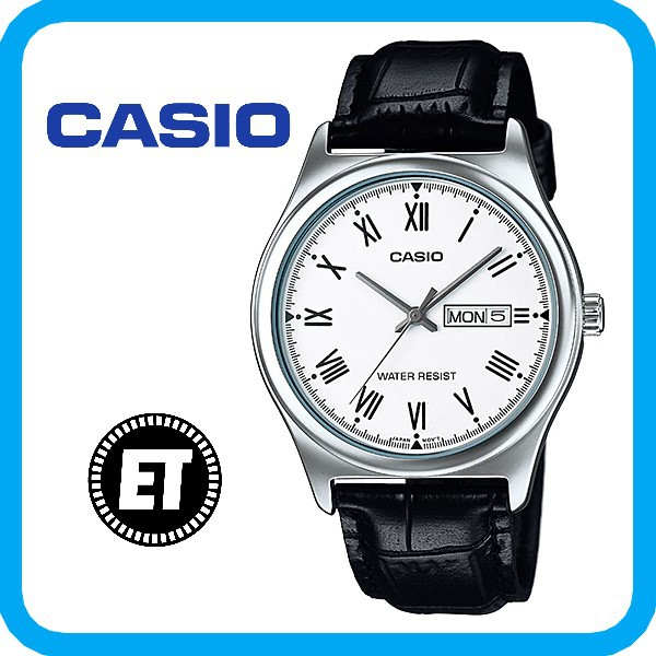 (2 YEARS WARRANTY) CASIO ORIGINAL MTP-V006L-7B ANALOG-MEN'S WATCH
