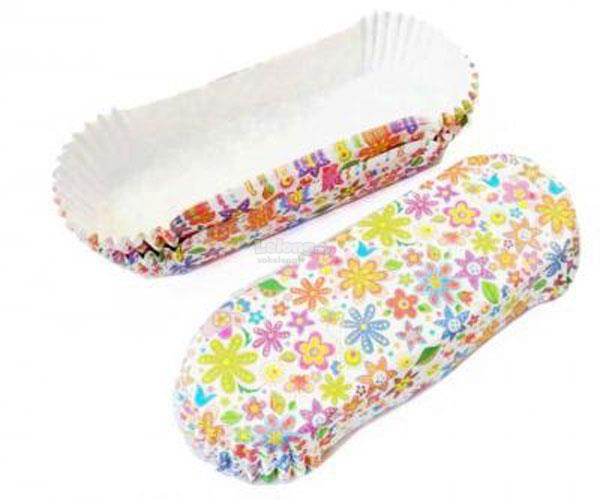 20 Spring Flowers Eclair Puff Cases