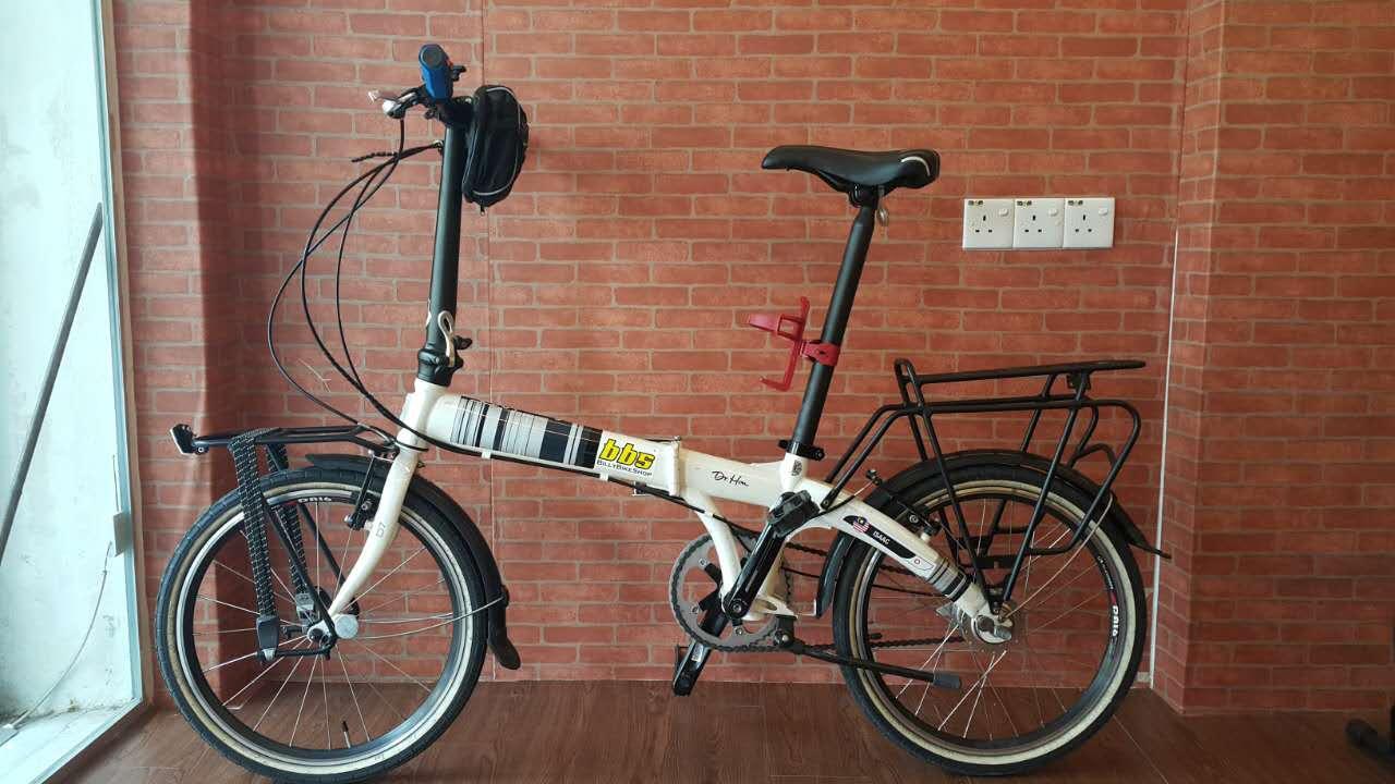20 Touring Rack For Folding Bike Dahon Tern Java Front Rear