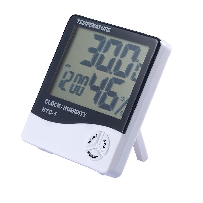200. Indoor Alarm Clock with Termometer Temperature Humidity Meter