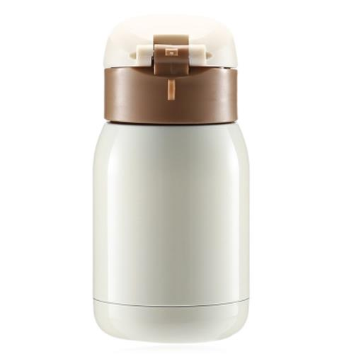 200ML STAINLESS STEEL CHILDREN ADULTS THERMAL BOTTLE (OFF-WHITE)