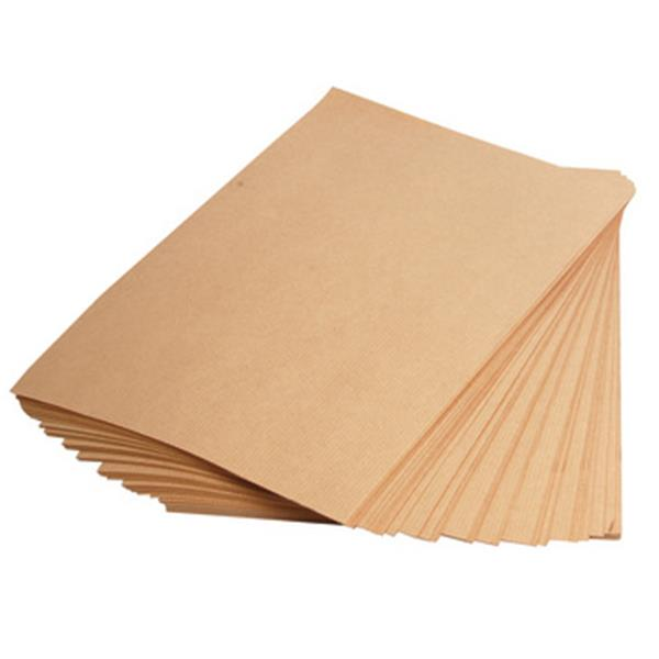 200pcs Brown Kraft Paper A4 for Printing and Craft 150gsm