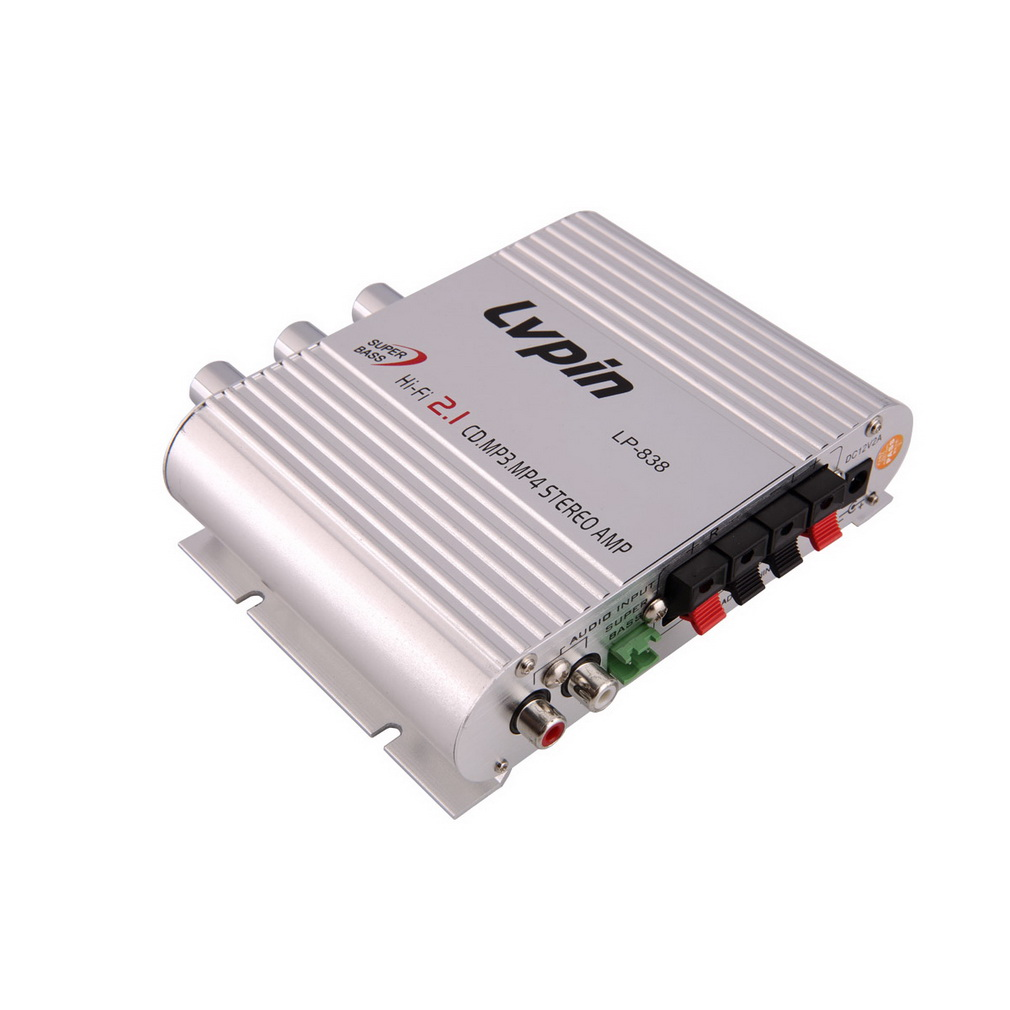 200w 12v mini hi-fi amplifier booster radio mp3 stereo for car motorcy