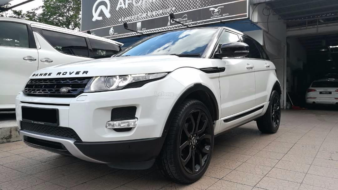2013 Range Rover Evoque Si4 Used (end 1/17/2018 11:15 PM)