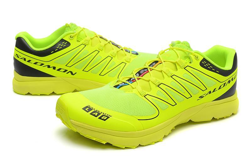 meet 8a40d 0bd75 ... Green Black 2014 Salomon S-Lab Sense 3 Ultra Running Athletic Shoe  Yellow 40-45 .