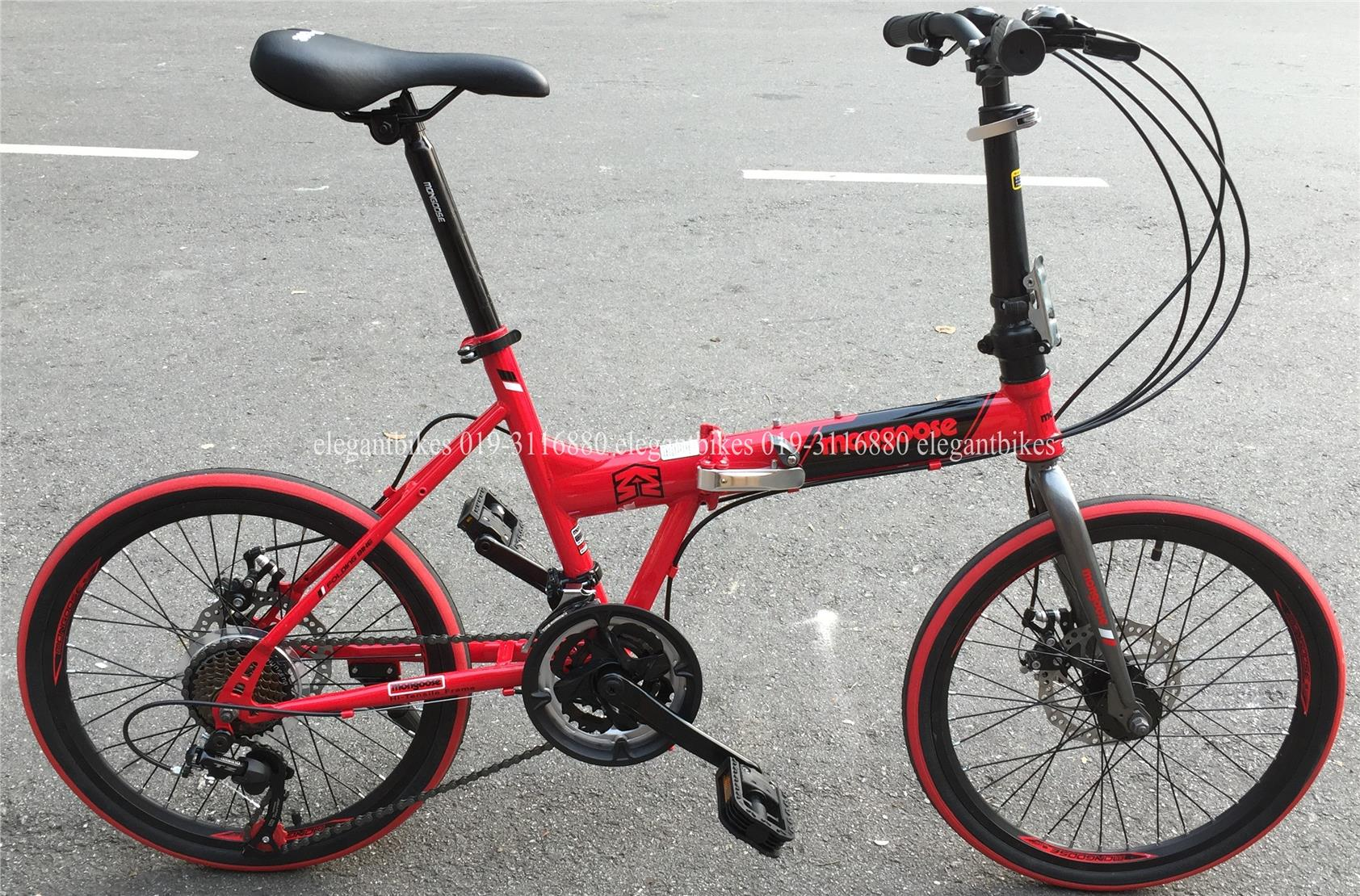 New 2015 Mongoose 21 Speed Foldable End 10 25 2016 8 15 Pm