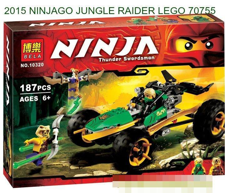 Lego Ninjago 70755 Jungle Raider INSTRUCTION BOOK ONLY No Lego bricks