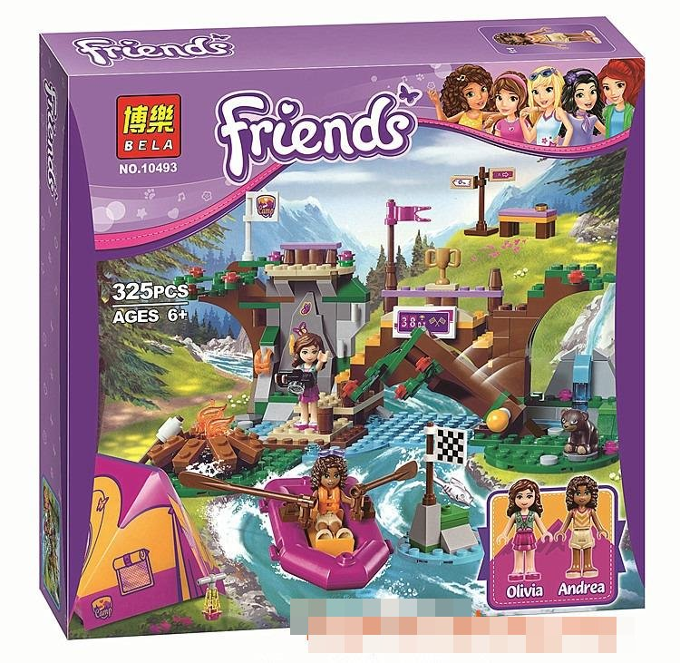 2016 BELA FRIENDS ADVENTURE CAMP RAFTING LEGO 41121 BRICK
